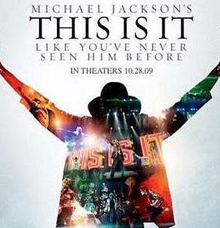 Cartel de la pelicula de Michael Jackson
