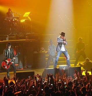 Guns N Roses en San Sebastian